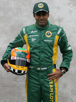 Karun Chandhok, test driver, Team Lotus
