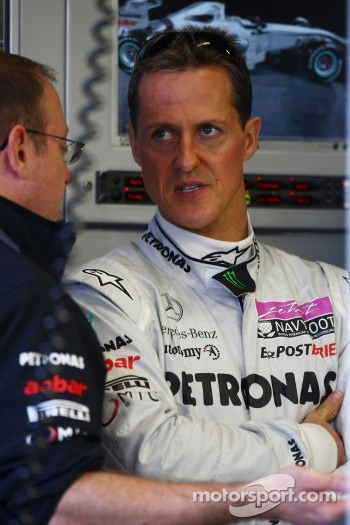 Michael Schumacher, Mercedes GP Petronas F1 Team