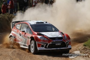 Federico Villagra and Jorge Perez Companc, Ford Fiesta RS WRC, Munchi's Ford World Rally Team