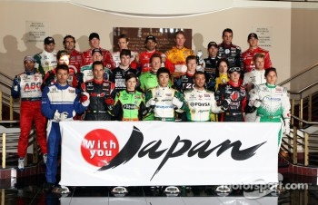IndyCar drivers unite to support Japan