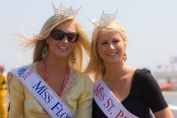 Miss Florida and Miss St. Petersburg