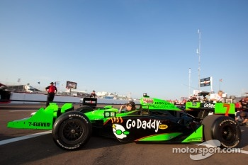 Car of Danica Patrick, Andretti Autosport