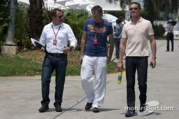 Martin Brundle, Mark Hughes, David Coulthard