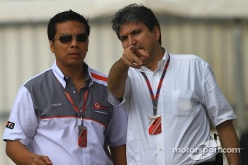 Razlan Razali, CEO of Sepang Circuit with Pasquale Lattuneddu
