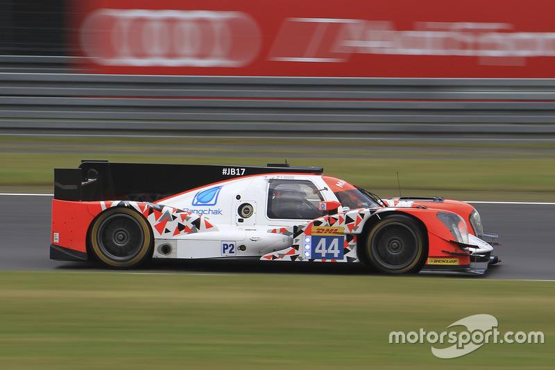 11. LMP2: #44 Oreca 05 - Nissan: Tor Graves, Antonio Pizzonia, Matthew Howson