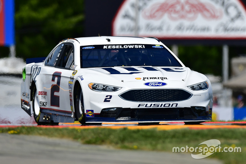 3. Brad Keselowski, Team Penske, Ford