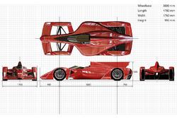 Ken Okuyama Design and Dome Formula E chassis proposal