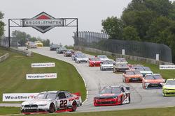 Start: Alex Tagliani, Team Penske, Ford, führt