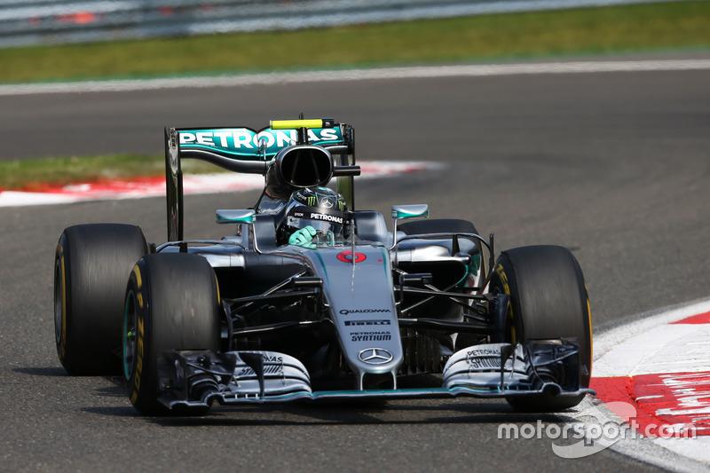 Belgien, Spa: Nico Rosberg (Mercedes)