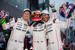 LMP1 winners #1 Porsche Team Porsche 919 Hybrid: Timo Bernhard, Mark Webber, Brendon Hartley