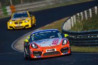 VLN Photos - Marc Hennerici, Moritz Oberheim, Porsche Cayman GT4 Clubsport