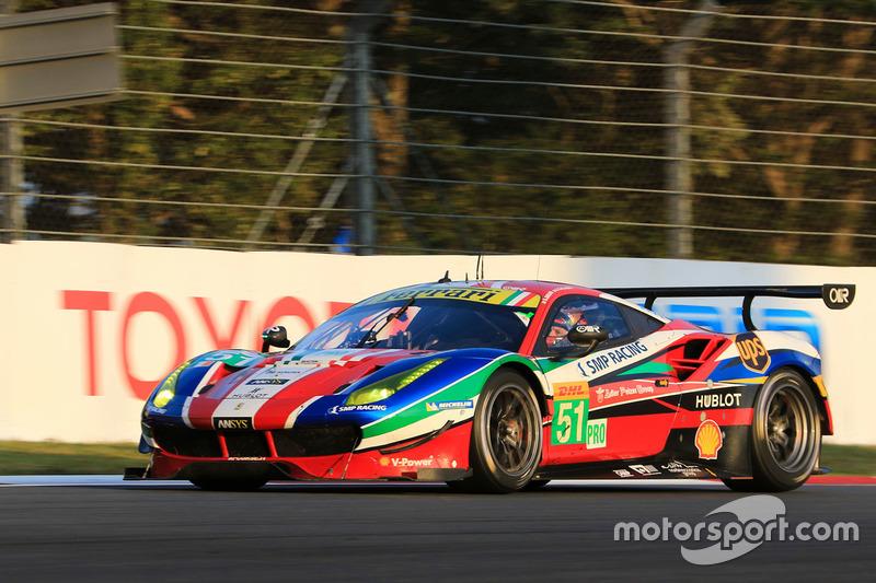 4. LMGTE Pro: #51Ferrari 488 GTE: Gianmaria Bruni, James Calado