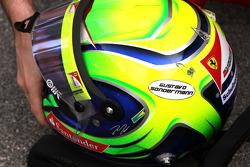 Felipe Massa, Scuderia Ferrari with his friends name on his helmet who passed away