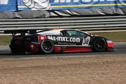 Back to pitlane, #47 DKR Engineering Corvette Z06: Michael Rossi, Jaime Camara