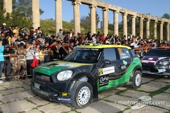 Daniel Oliveira and Carlos Magalhaes, MINI John Cooper Works