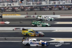 Mike Neff, John Force, Jim Head and Jack Beckman