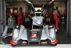 Audi Sport pit area