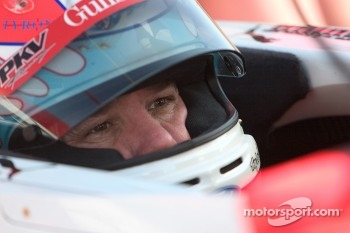 Jimmy Vasser in cockpit