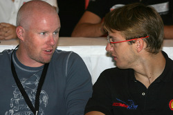 Pre-event press conference: Paul  Tracy and Sébastien Bourdais