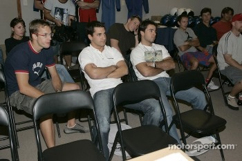 Subaru WRX experience: Sbastien Bourdais, Timo Glock and Oriol Servia