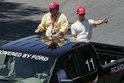 Drivers parade: Ricardo Sperafico