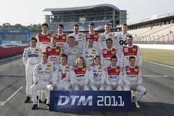 DTM drivers photoshoot