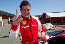 Race winner #22 Ferrari of Ft. Lauderdale Ferrari 458 Challenge: Enzo Potolicchio