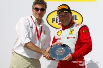 F430 podium: third place Guy Leclerc