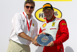 F430 podium: third place Guy Leclerc