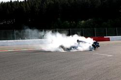 Impressive spin of #21KMP Racing: Anton Nebylitskiy