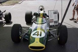Vintage Lotus race car