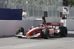 Justin Wilson on pit lane