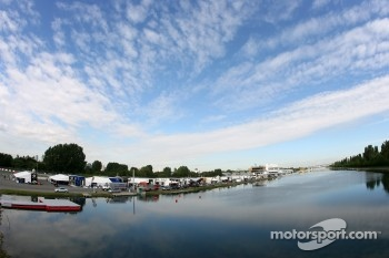 Paddock at Circuit Gilles-Villeneuve