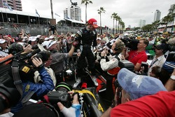 Nelson Philippe wins the Lexmark Indy 300