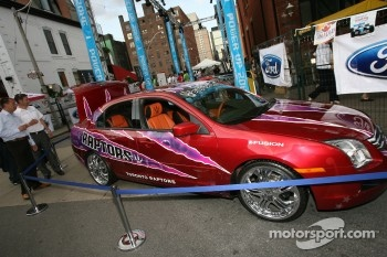 John Street party: Toronto Raptors Ford Fusion