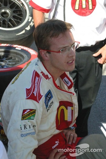Sébastien Bourdais rest after qualifying