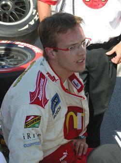 Sébastien Bourdais rest after qualifying