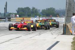 Sébastien Bourdais, Will Power and Simon Pagenaud