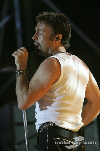 Paul Rodgers concert at the track
