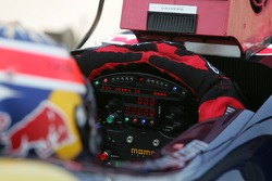 Steering wheel of Neel Jani