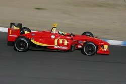 Sébastien Bourdais driving in the Newman Hass Lanigan Racing Panoz DP01