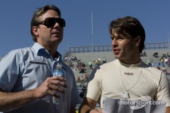 Jimmy Vasser and Oriol Servia
