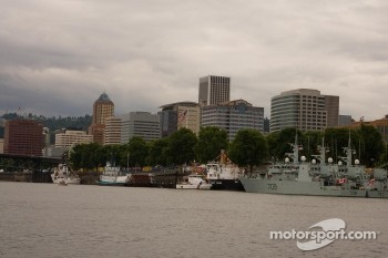 City of Portland and Willamette River