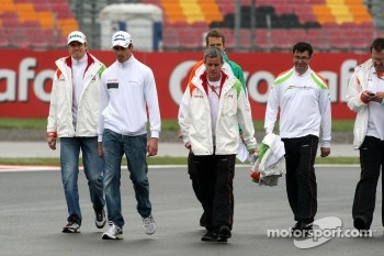 Nico Hulkenberg, Force India F1 Team, Test Driver, Adrian Sutil, Force India F1 Team