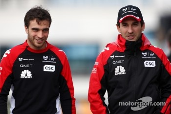 Jerome d'Ambrosio, Marussia Virgin Racing, Timo Glock, Marussia Virgin Racing