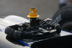 Pacific Coast Motorsports steering wheel