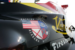 Decal in support for the hurricane Katrina efforts