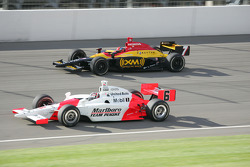 Sam Hornish Jr. and Bryan Herta