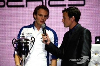GP2 launch party, Billionaire Istanbul: Giedo Van der Garde