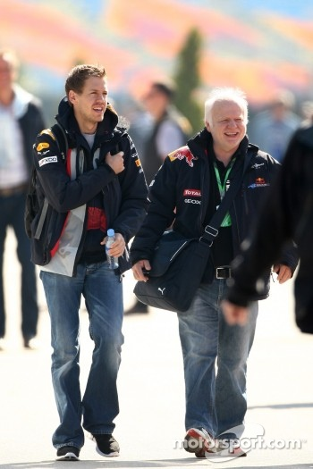 Sebastian Vettel, Red Bull Racing, Norbert Vettel, Father of Sebastian Vettel